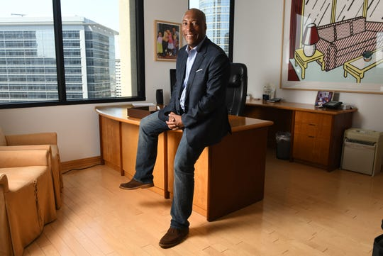 Comedian and television producer Byron Allen, founder and CEO of Entertainment Studios, sued Comcast and Charter Communications for racial discrimination.