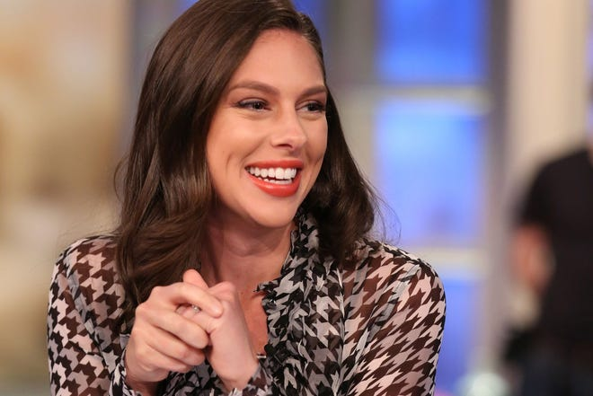 """""""The View"""" co-host Abby Huntsman revealed was was expecting twins in 2019."""