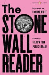 """The Stonewall Reader Paperback,"" edited by the New York Public Library."