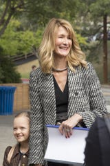 Problems continue for Amabella (Ivy George, left) and mom Renata (Laura Dern).