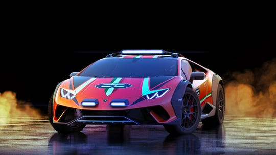 Lamborghini daringly converted the Huracán Evo into a lifted, desert-bashing supercar called the Huracán Sterrato Concept.
