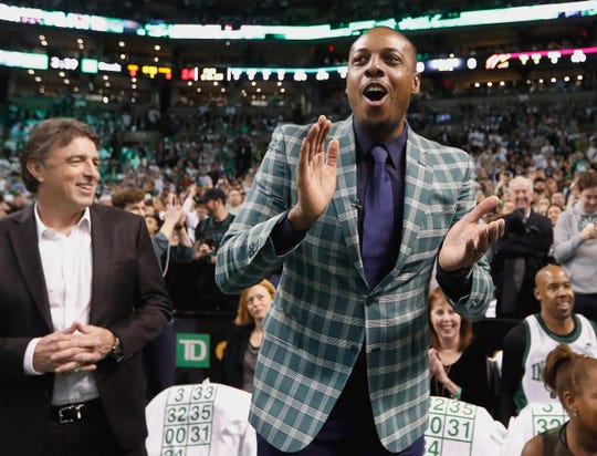 Former Boston Celtics forward Paul Pierce.