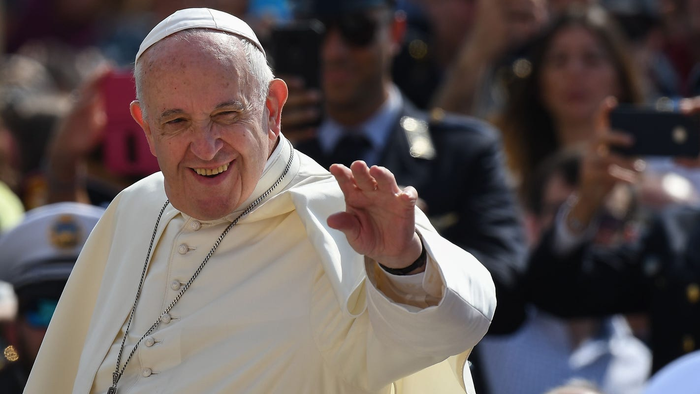 Our Father: Pope Francis approves changes to words of Lord's Prayer, reports say