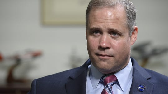 James Bridenstine, NASA administrator, during an interview with USA TODAY on Thursday, June 6, 2019.