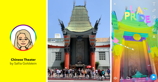 Chinese Theater Pride Landmark