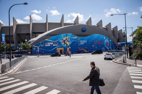 Parc des Princes stadium will play host to the opening game of the World Cup on Saturday between France and South Korea.