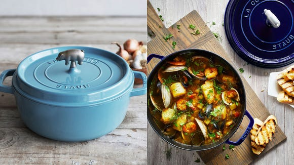 This iconic cookware makes a great gift for Dad, a wedding, or yourself (no judgment here).