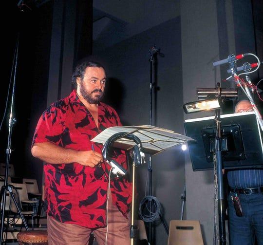 Pavarotti loved his Hawaiian shirts.