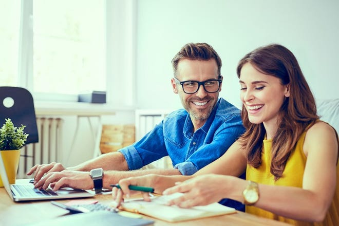 A work spouse can be a good thing if you respect boundaries.