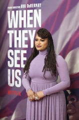 "Ava DuVernay attends the world premiere of her miniseries ""When They See Us,"" at the Apollo in New York."