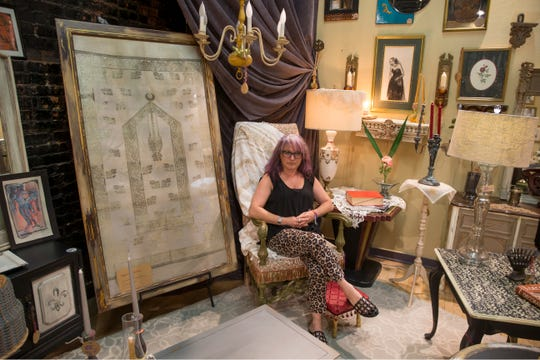 Sheby and Sheby is an Asbury Park-based business that sells furniture and home decor items including custom painted furniture. Owner Sheby Koray creates the items herself. 