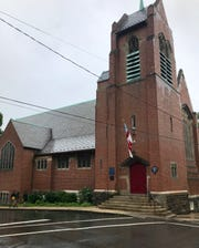 Like several of Asheville's older, historical churches, Trinity Episcopal does not have a sprinkler system. Its rector said it's close to the Fire Department's main station, which offers some protection. Also, water from a sprinkler system could cause extensive damage, even with a minor fire.