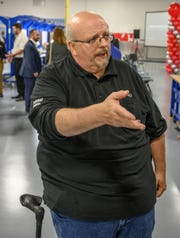 Jim Perry has worked for the Battle Creek Denso plant since it opened in 1986. He was the 12th skilled trades employee hired.