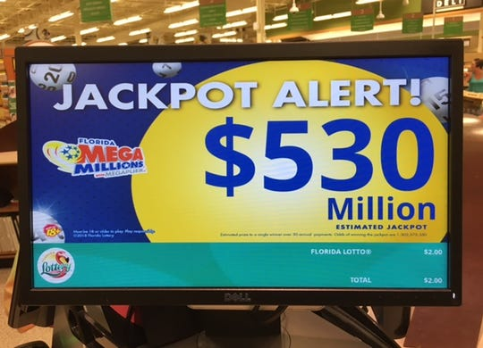 Friday night's jackpot has climbed to over half a billion dollars.