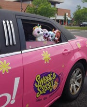 Some stuffed buddies are on board as the Sweet & Sassy limo makes its way to a new Cherry Hill location. The owner of a Lehigh Valley, Pa., Sweet & Sassy will open in the township this summer, nearly a year after another Cherry Hill franchise closed.