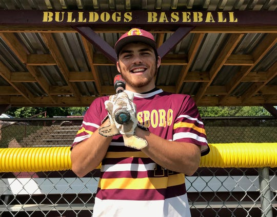 Glassboro senior Coty McArthur has been the hottest hitter for the Bulldogs during their first-ever run to the Group 1 state final.