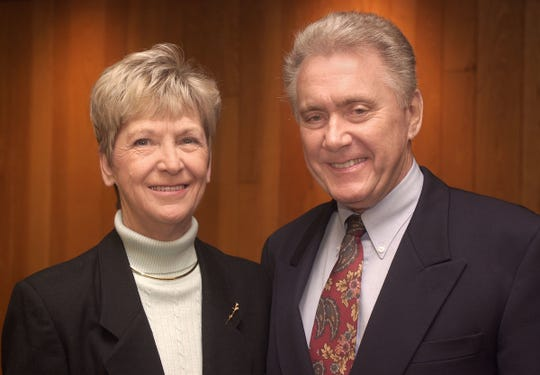 Larry and Mary Gates