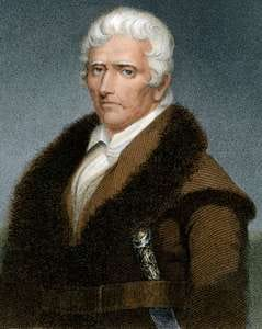 Frontiersman Daniel Boone.