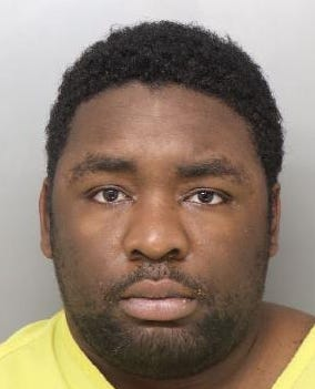 Durrell Nichols, 25, assaulted officers trying to take him into custody after he refused to leave the YMCA, police said.