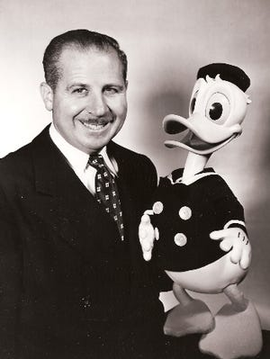 Clarence Charles Nash was the voice of Donald Duck and other Disney characters.