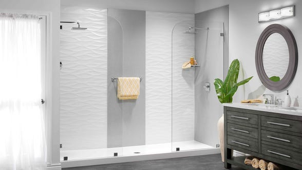 If you're installing a bathtub or shower system, you might not want to stop your remodeling project there. ImproveIt can add a stunning new vanity, vanity top, sink, lighting, toilet, mirrors, fixtures and more as an extension of their bath-and-tub services.