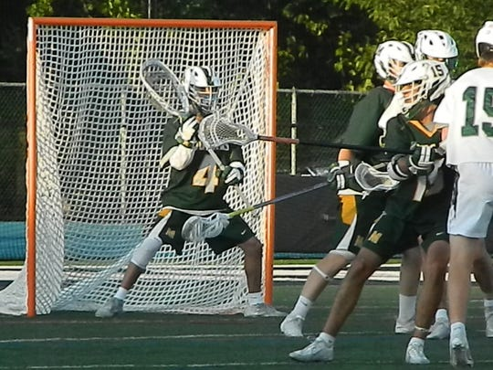 Montgomery vs. Delbarton lacrosse in the Tournament of Champions semifinals on Thursday, June 6, 2019 at Kean University.