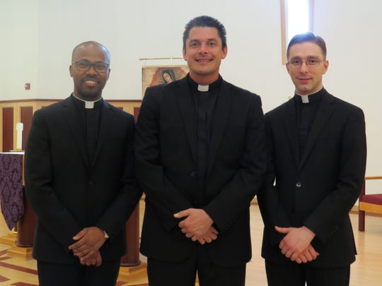 Transitional deacons.