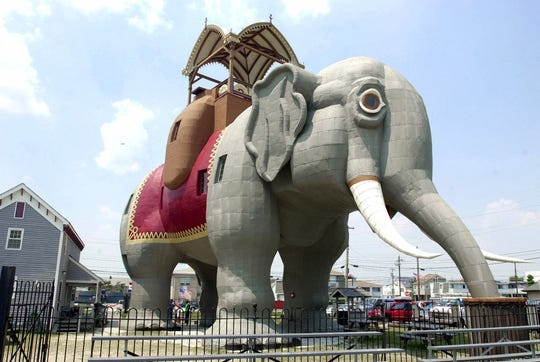 Lucy the Elephant in Margate.