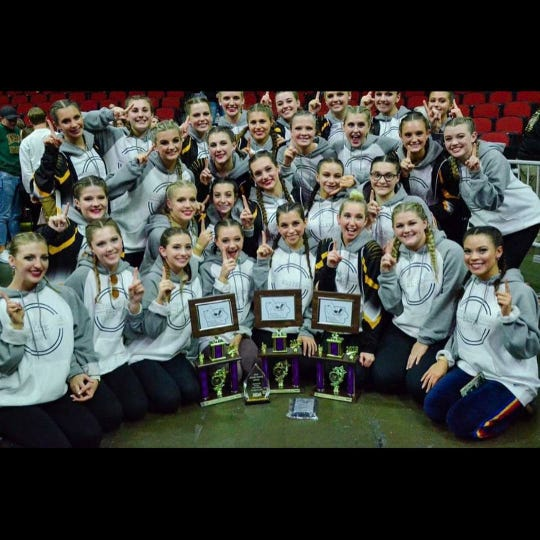 The Southeast Polk RyhthAMetteS have won five national championships in the past two years.