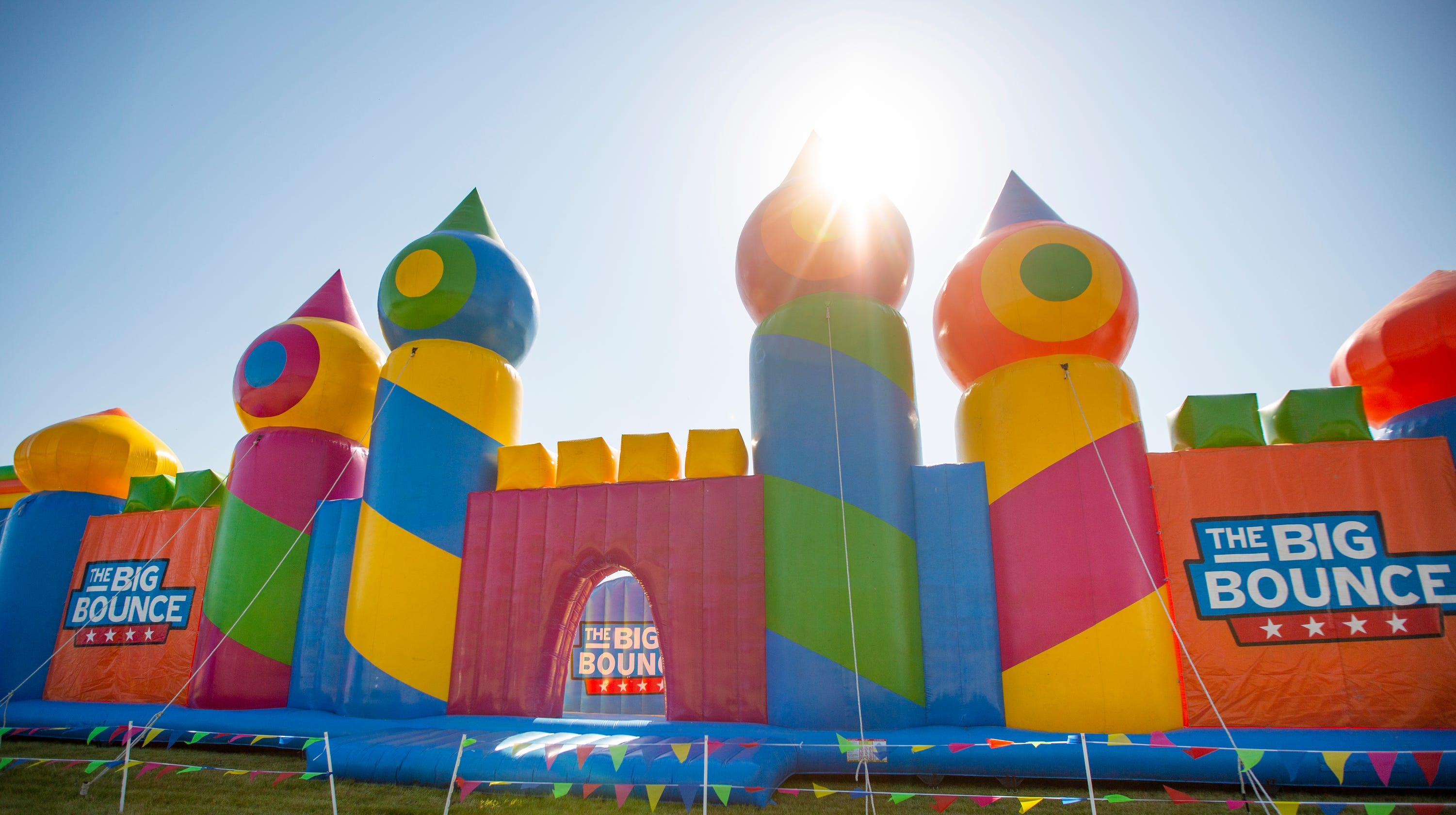 The world's largest bounce house has officially landed in ...