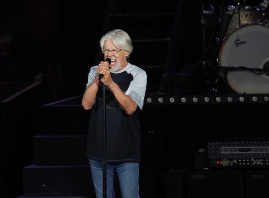 Bob Seger and the Silver Bullet Band play for a sellout crowd during the first of a six-show run at DTE Energy Theatre in Clarkston, Michigan on June 6, 2019.