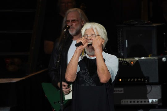 Bob Seger and the Silver Bullet Band play for a sellout crowd during the first of a six-show run at DTE Energy Theatre in Clarkston on Thursday, June 6, 2019.