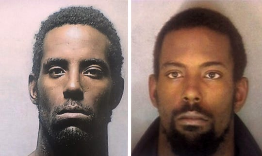 Two photos Kenneth DeAngelo Martin who Detroit Police identified as a person of interest in the serial killer case, according to Police Chief James Craig. He described as a 34-year-old black male, 5-foot-9, approximately 160 pounds with black hair and brown eyes.