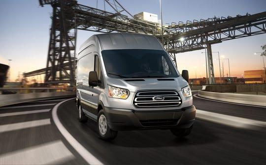 2019 Ford Transit 250 HR LWB Cargo Van in Ingot Silver