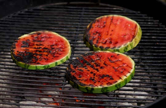 Try grilling watermelon on the barbecue.