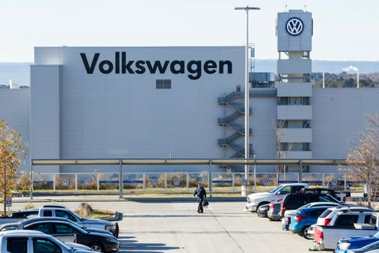 The Volkswagen plant in Chattanooga, Tenn.