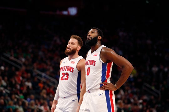 Blake Griffin, Andre Drummond and the Pistons will play in Mexico City on Dec. 12.