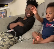 Tennessee comedian DJ Pryor and his son Kingston