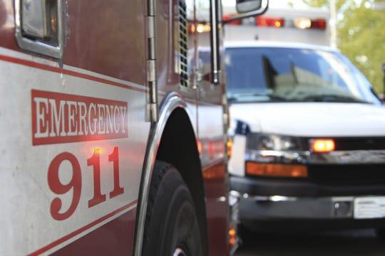 Emergency 911 Scene