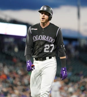The Colorado Rockies play at the Mets Sunday morning.