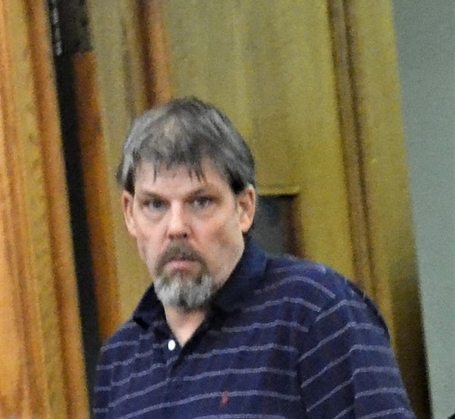 Peter Hanson, seen at his murder trial in Oconto County in December 2013.