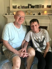 Tom and Meridith Reinhart, Allouez, hope to hear a little of Paul McCartney's concert from outside Lambeau Field on Saturday night. Meridith has been in love with Paul for 54 years.