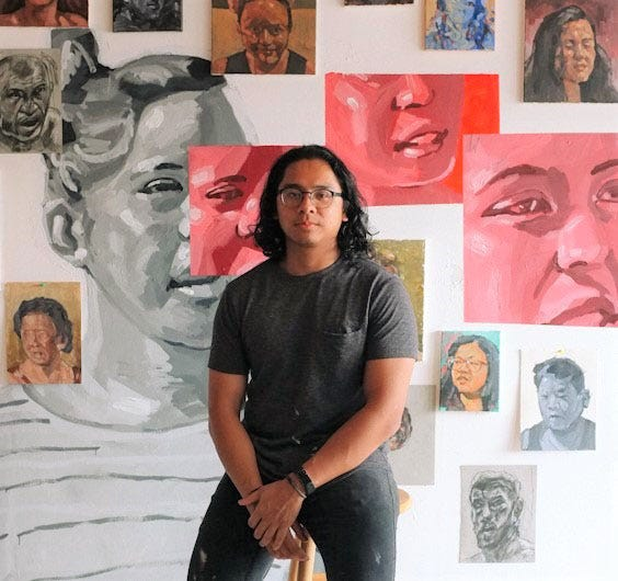 Guam artist Gino Datuin will create an 18-foot by 16-foot mural for the Guam Brewery Tap House.