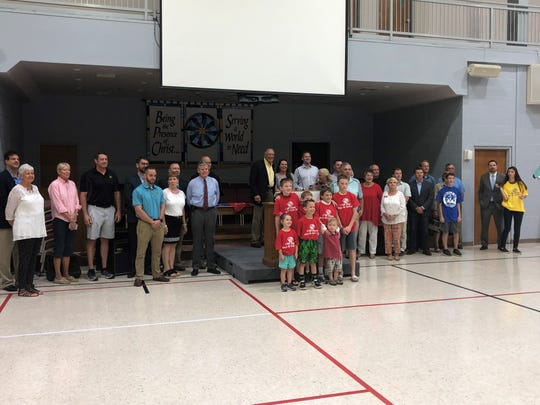 The Boys and Girls Club of Henderson kicked off its fundraising campaign with a rally Friday at Community Baptist Church, which is the site of the facility that will open on August 7.