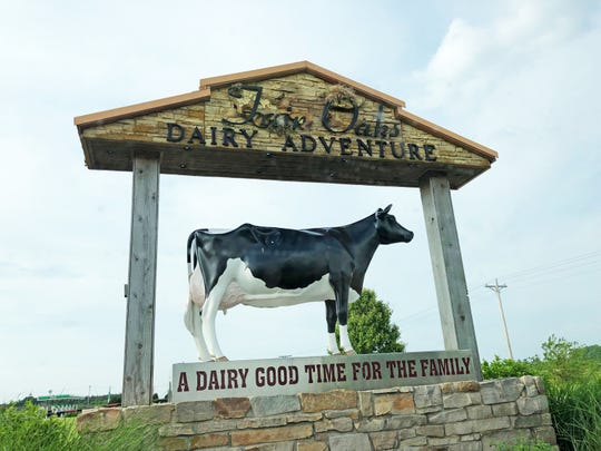 About 100 miles northwest of Indianapolis, Fair Oaks Farms brings in more than 500,000 visitors each year. Indiana's largest dairy producer, Fair Oaks is under fire after an animal welfare group exposed abuses at the farm.