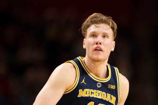 Michigan forward Ignas Brazdeikis was the 2019 Big Ten Freshman of the Year