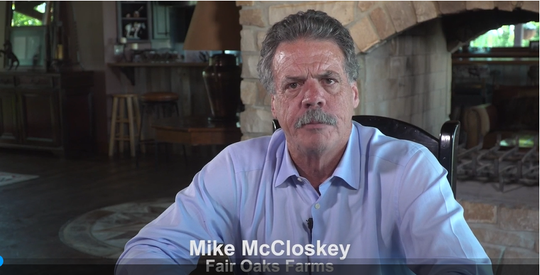 Mike McCloskey, owner of Fair Oaks Farms, puts out a video statement in response to the controversy about animal cruelty documented on his farms.