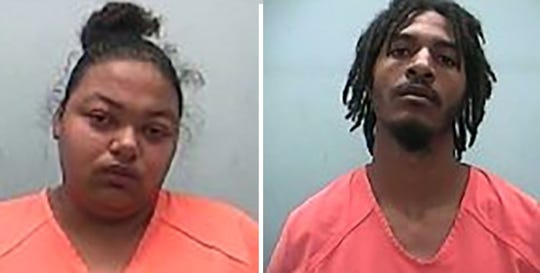 Lakeisha Marie Jones (left) and James Christopher Anderson