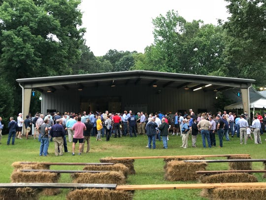 The Good Ole Boys and Gals political event in Oxford is a north Mississippi pre-election tradition, often drawing all the top candidates and more than 300 others.