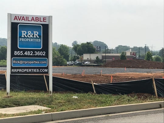 The site of Tennessee's first Duluth Trading Co. store, just off Kingston Pike next to Main Event. A drive-through restaurant outparcel is still available.